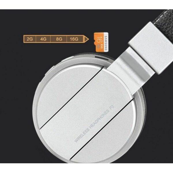 29087 - Складные Bluetooth наушники Sound Intone P2 - поддержка micro SD карт, FM-радио, микрофон