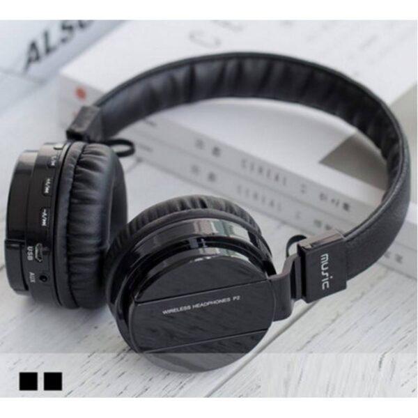 29088 - Складные Bluetooth наушники Sound Intone P2 - поддержка micro SD карт, FM-радио, микрофон