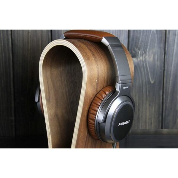 29097 - Акустические Hi-Fi наушники Pisen HD500 - позолоченный штекер, металлическая конструкция, кожаные амбушюры