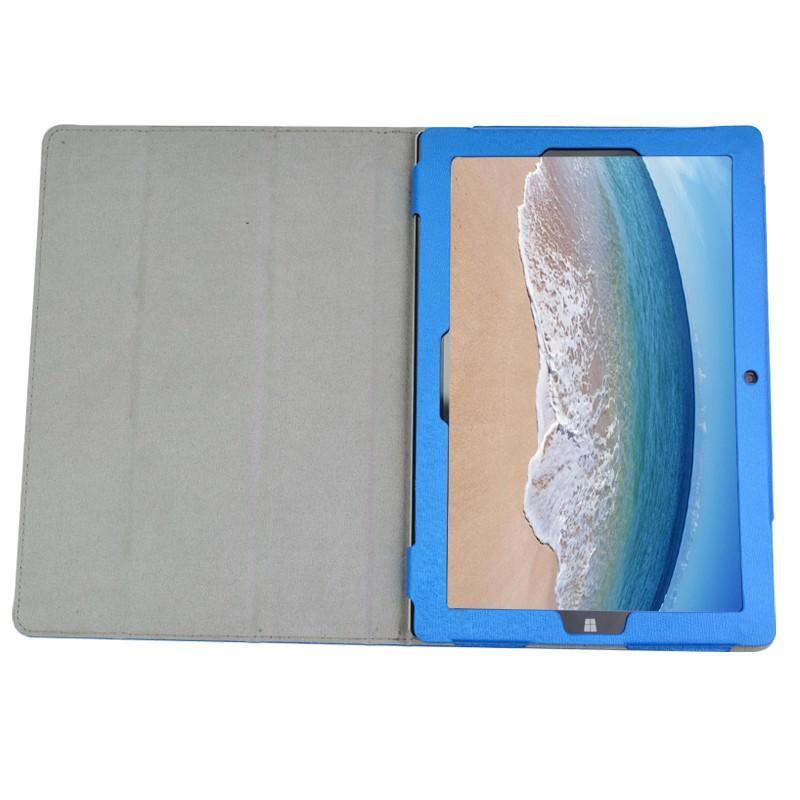 Кожаный чехол-подставка для Teclast Tbook10/ Tbook10S - Синий