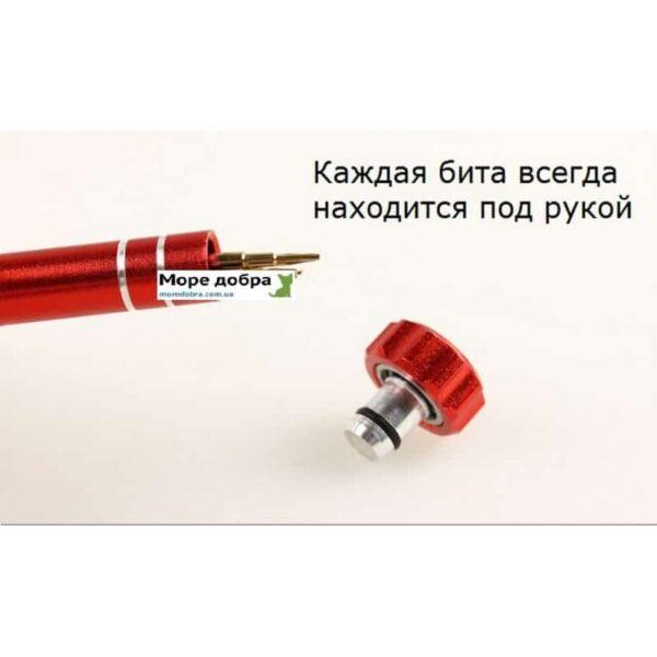 29178 - Портативный набор 5 в 1 MingTU HJ6688 - сменные биты и отвертка