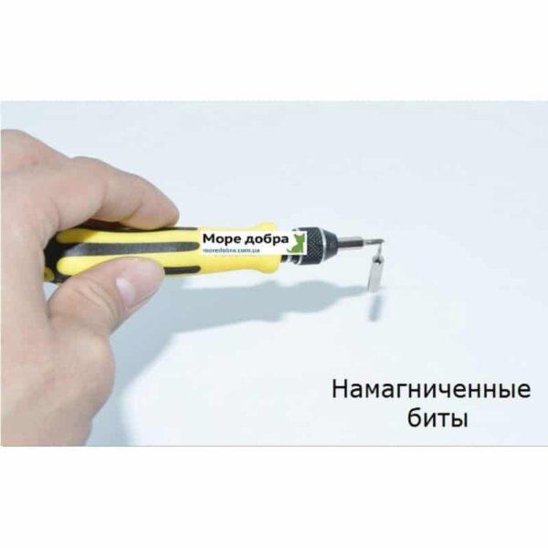 29182 - Многофункциональный набор мини-отверток 45 в 1 MingTU RZ45012 - ручка, сменные биты, удлинитель, пинцет