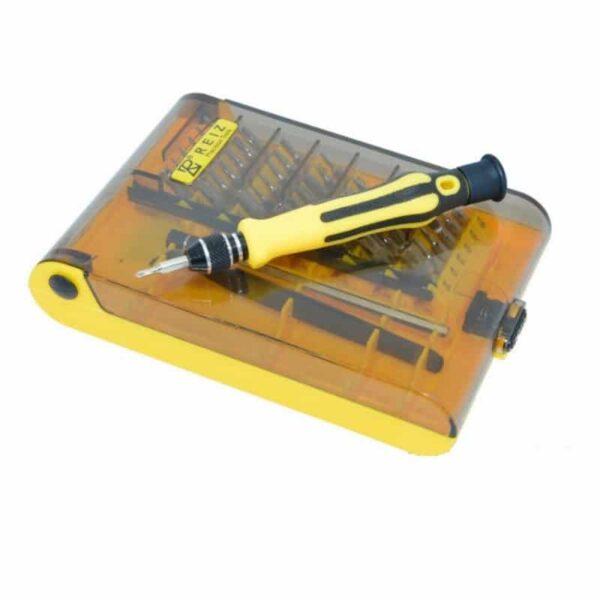 29189 - Многофункциональный набор мини-отверток 45 в 1 MingTU RZ45012 - ручка, сменные биты, удлинитель, пинцет