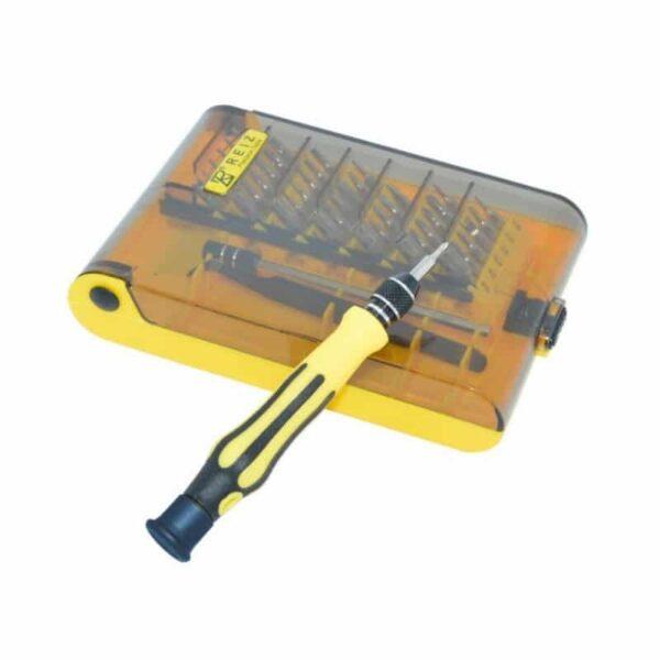 29190 - Многофункциональный набор мини-отверток 45 в 1 MingTU RZ45012 - ручка, сменные биты, удлинитель, пинцет