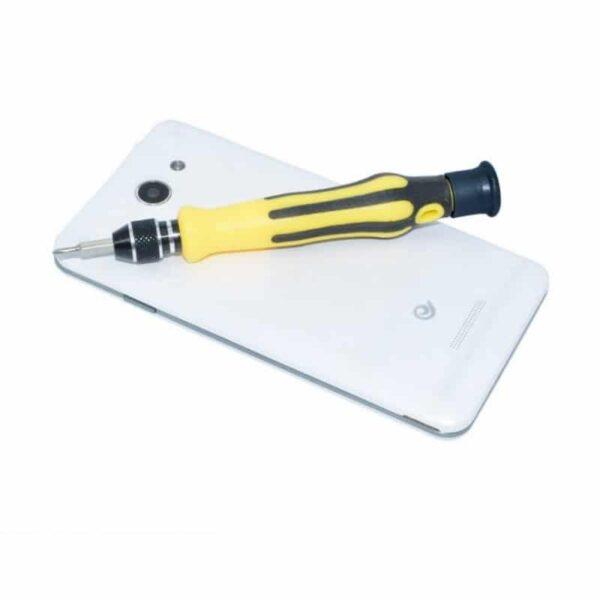 29192 - Многофункциональный набор мини-отверток 45 в 1 MingTU RZ45012 - ручка, сменные биты, удлинитель, пинцет