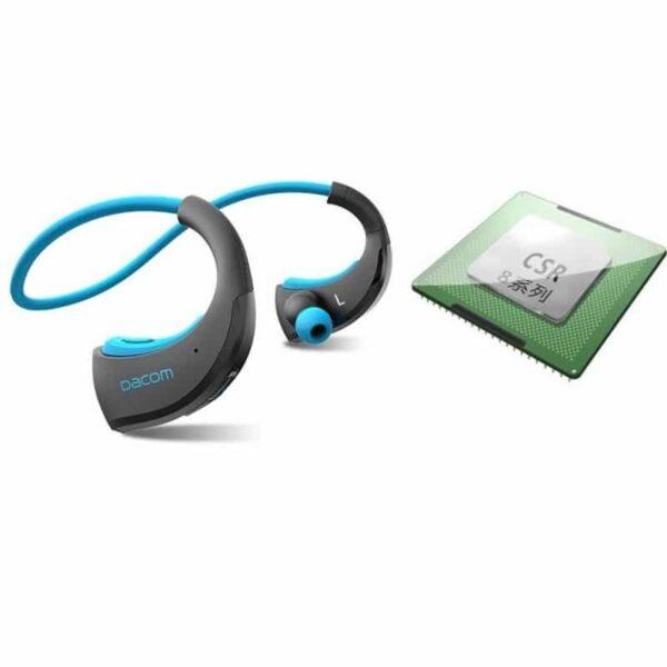 29218 - Bluetooth гарнитура Dacom Armor - IPx5, до 8 часов активной работы, шумоподавление