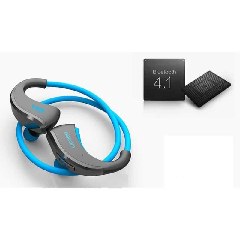 Bluetooth гарнитура Dacom Armor – IPx5, до 8 часов активной работы, шумоподавление 206055