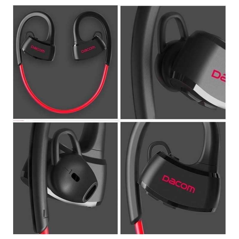 Спортивная Bluetooth гарнитура Dacom Р10 – IPx7, шумоподавление CVC 6.0, до 7 дней в режиме ожидания 206064