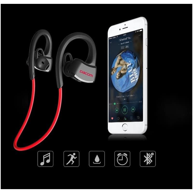 Спортивная Bluetooth гарнитура Dacom Р10 – IPx7, шумоподавление CVC 6.0, до 7 дней в режиме ожидания 206067