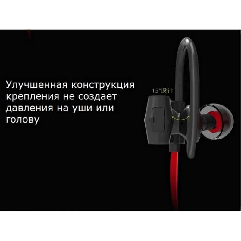 Беспроводные Bluetooth наушники Dacom G18 для бега – IPx4, шумоподавление CVC 6.0, мягкое силиконовое крепление 206090
