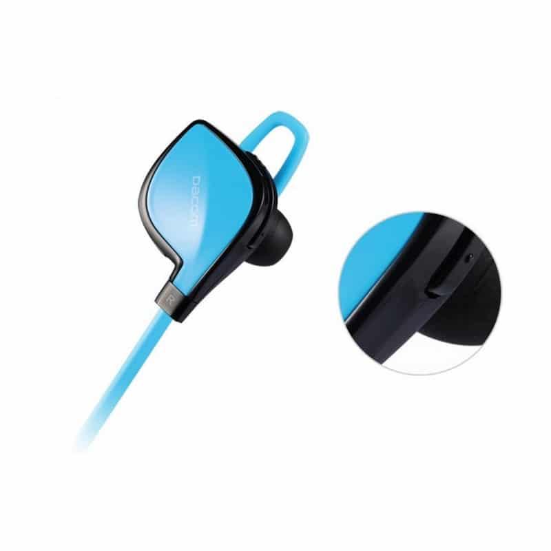 Беспроводные Bluetooth наушники Dacom Lancer Two – шумоподавление CVC 6.0, поддержка APT-X, до 8 часов музыки и разговора 206096