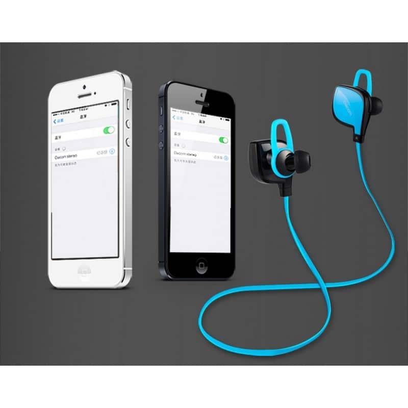 Беспроводные Bluetooth наушники Dacom Lancer Two – шумоподавление CVC 6.0, поддержка APT-X, до 8 часов музыки и разговора 206097