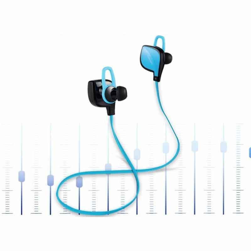 Беспроводные Bluetooth наушники Dacom Lancer Two – шумоподавление CVC 6.0, поддержка APT-X, до 8 часов музыки и разговора 206098