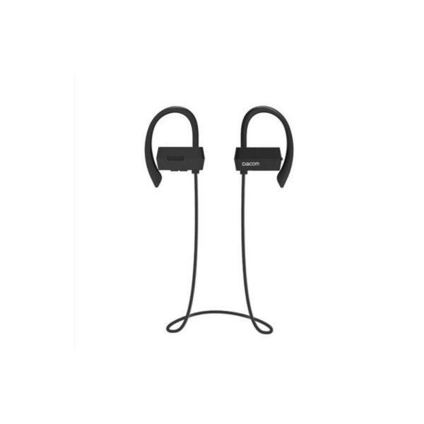 29269 - Беспроводные Bluetooth наушники Dacom G18 для бега - IPx4, шумоподавление CVC 6.0, мягкое силиконовое крепление