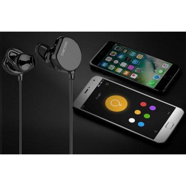 29367 - Беспроводные Bluetooth наушники Dacom Fruit Powder 7 - Bluetooth 4.1, до 10 м, до 8 часов музыки
