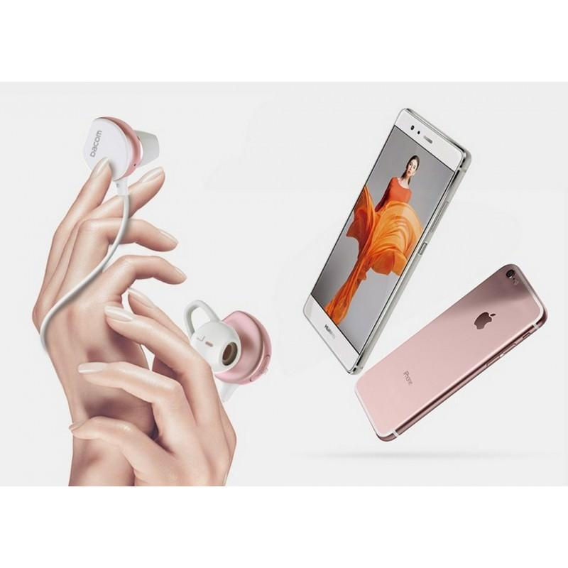 29371 - Беспроводные Bluetooth наушники Dacom Fruit Powder 7 - Bluetooth 4.1, до 10 м, до 8 часов музыки