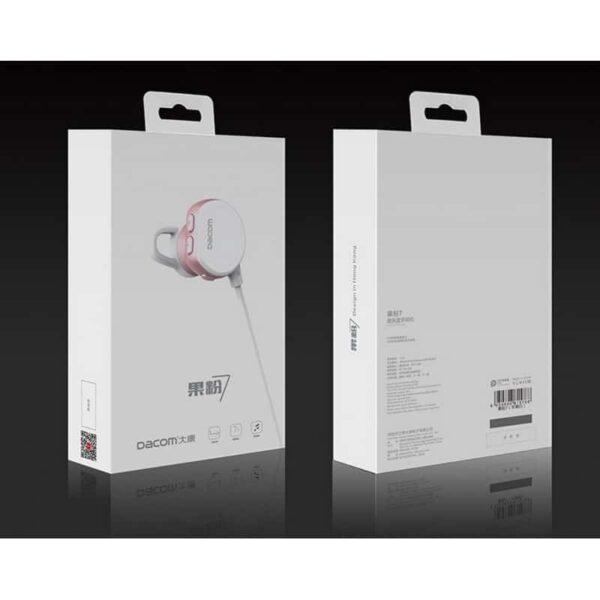 29374 - Беспроводные Bluetooth наушники Dacom Fruit Powder 7 - Bluetooth 4.1, до 10 м, до 8 часов музыки