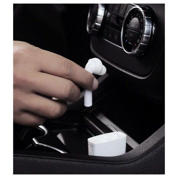 29383 - Bluetooth гарнитура Dacom Fruit Powder 7 Carkit с автомобильным зарядным устройством