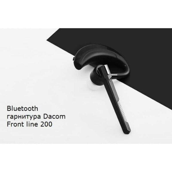 29387 - Bluetooth гарнитура Dacom Front line 200 - DSP чип AB1526, 20-канальный эквалайзер, подавление шума и эха