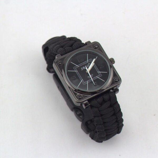29425 - Часы-браслет выживания 6 в 1 Polar Star: огниво, паракорд, компас, свисток, нож