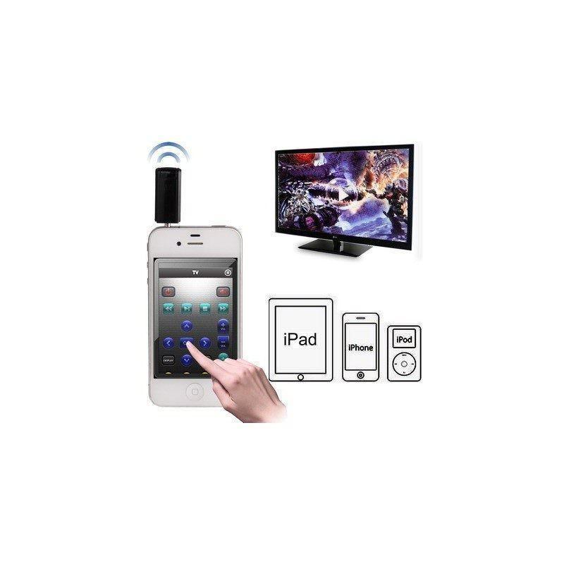 Универсальный ИК-пульт Digitec Smart для дистанционного управления ТВ, DVD, стерео (совместим с iPhone, iPod Touch, iPad)