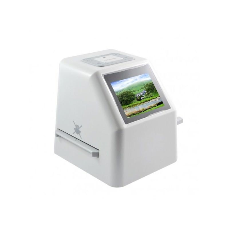 Сканер пленок и слайдов Film Wizard, USB, разрешение 14 Мп, 22 Мп с интерполяцией, карта SD до 32 Гб, LCD-дисплей 2,4″