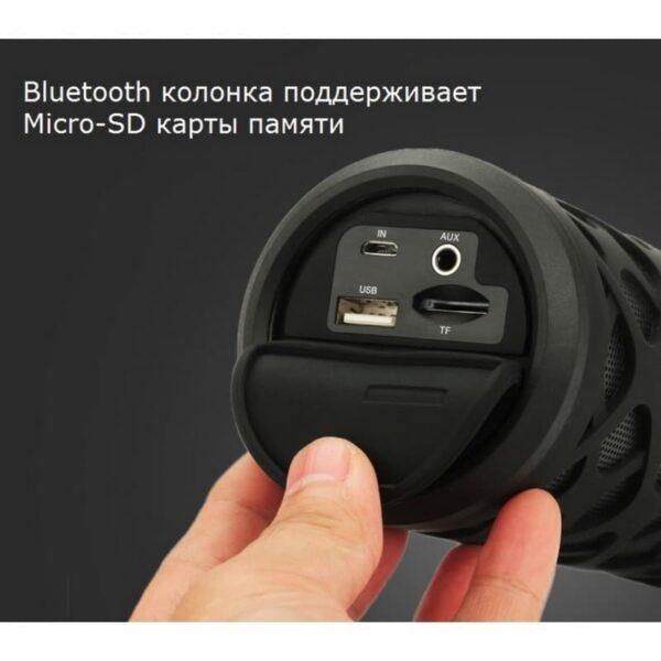29646 - Портативная Bluetooth колонка Pisen SPK-B003 - IPx6, поддержка Micro SD