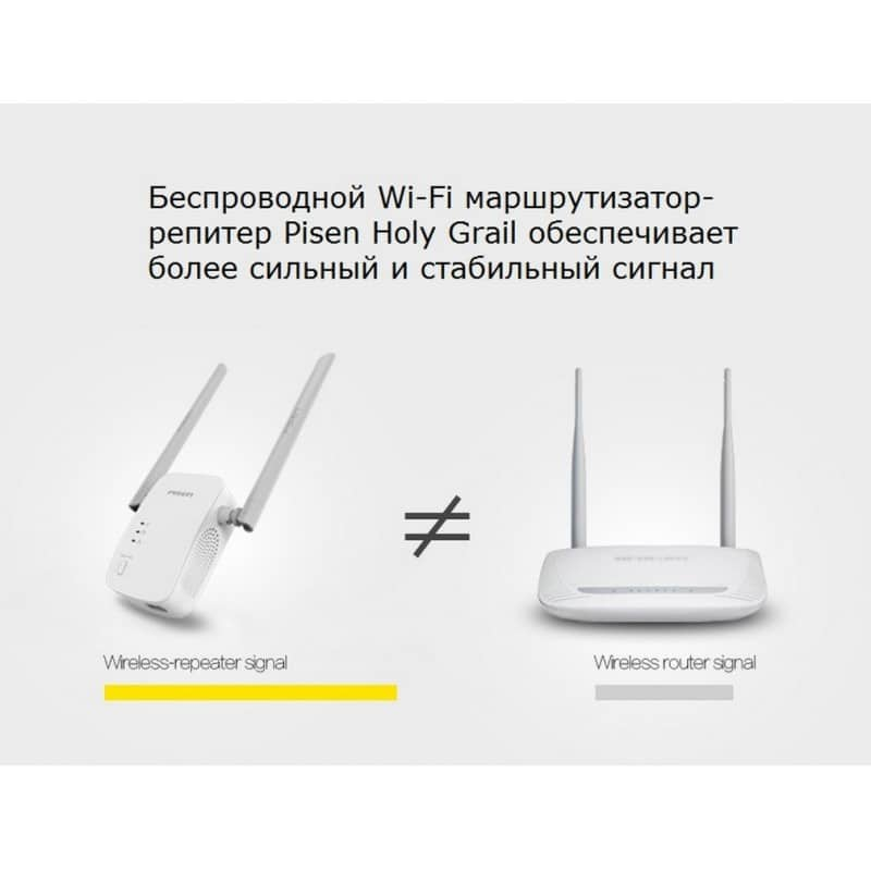 Беспроводной Wi-Fi маршрутизатор-репитер Pisen Holy Grail 206415