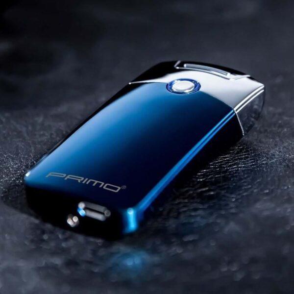 29671 - Плазменная электроимпульсная USB-зажигалка Futura Primo: цинковый сплав, ветрозащита