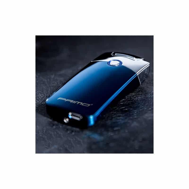 Плазменная электроимпульсная USB-зажигалка Futura Primo: цинковый сплав, ветрозащита 206433