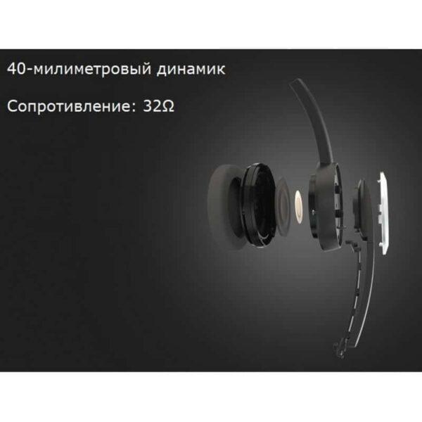 29706 - Накладные проводные наушники Pisen HD109 - встроенный микрофон, телескопическая конструкция