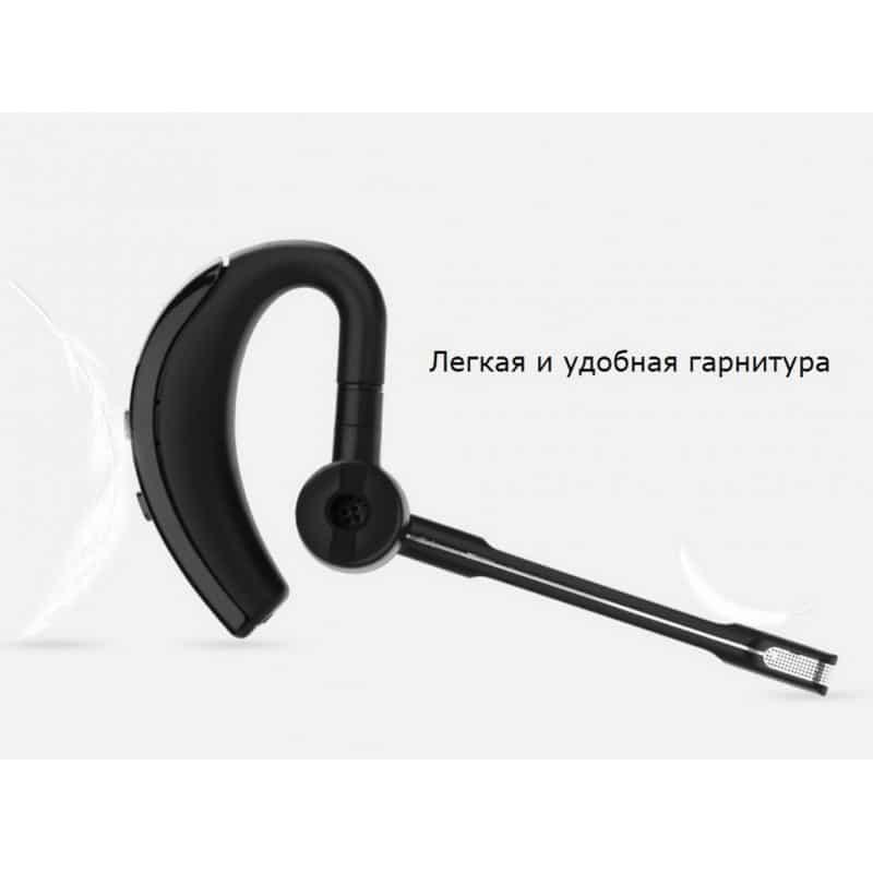 Bluetooth гарнитура Pisen LE105 – NFS, шумоподавление, до 8 часов 206464