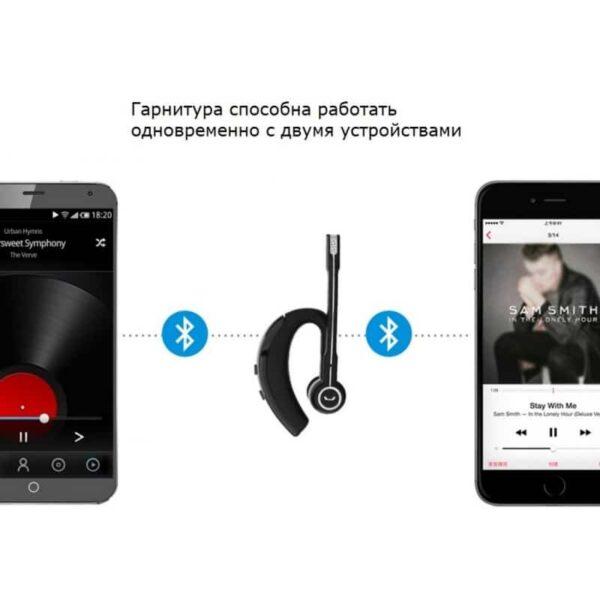 29718 - Bluetooth гарнитура Pisen LE105 - NFS, шумоподавление, до 8 часов