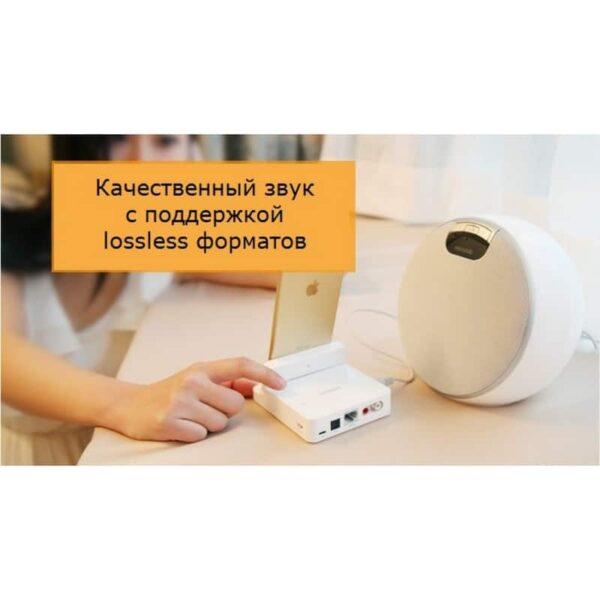 29729 - 3 в 1 устройство Pisen Cloud Music Box - облачное воспроизведение музыки, Wi-Fi маршрутизатор-репитер, порт зарядки Lightning