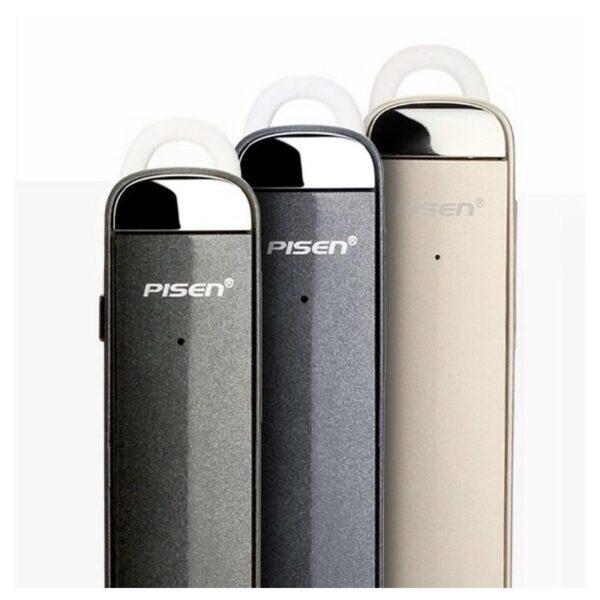 29752 - Стильная Bluetooth гарнитура Pisen LE005 - цифровая обработка звука, интеллектуальное шумоподавление, до 10 часов разговора