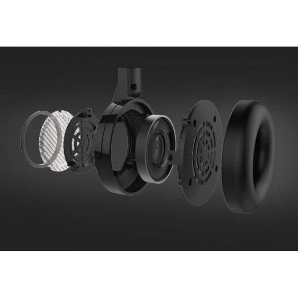 29763 - Открытые накладные наушники Pisen HD200 - позолоченный штекер, металлическая конструкция, кожаные амбушюры