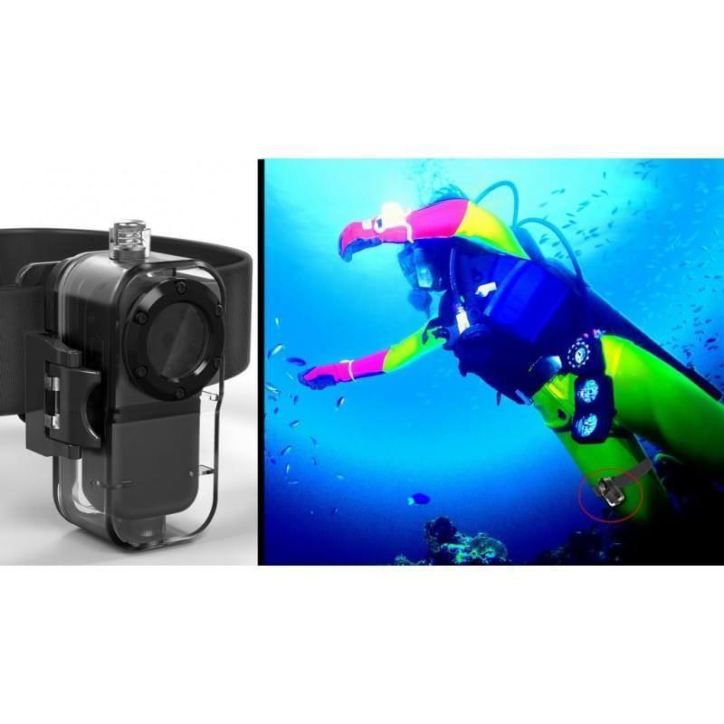 Мини камера MD38 – 1920 х 1080, водонепроницаемый бокс, 72 градуса, ночная подсветка, активация звуком 206549