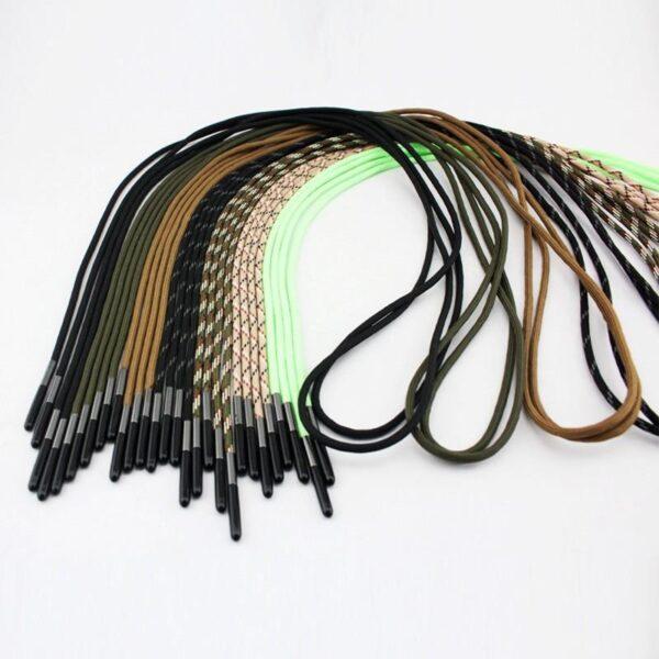29820 - Шнурки выживания из паракорда с огнивом Highlander + светоотражающая нить