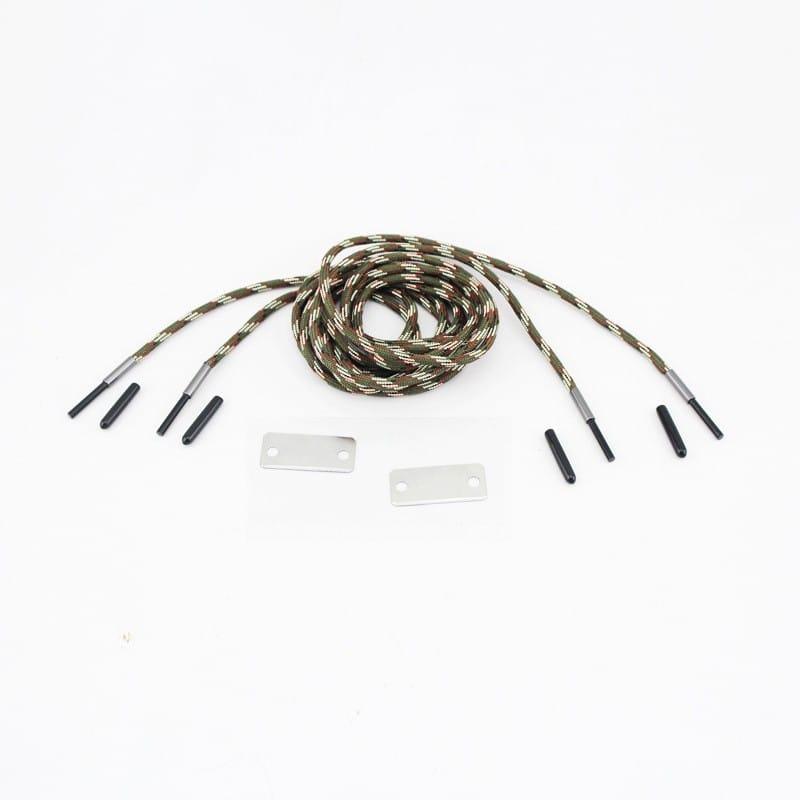 Шнурки выживания из паракорда с огнивом Highlander + светоотражающая нить 206566