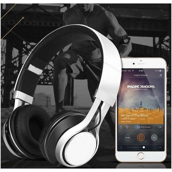 29832 - Складные наушники Sound Intone HD 30 - HD микрофон, позолоченный штекер