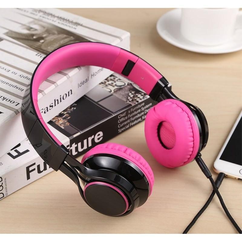 29836 - Складные наушники Sound Intone HD 30 - HD микрофон, позолоченный штекер