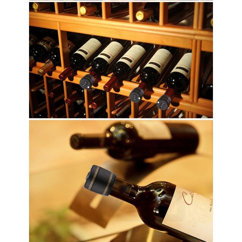 Пробка с кодовым замком для всех типов бутылок VIPBottle 206701
