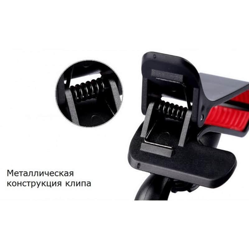 Компактный клип-держатель смартфона для автомобиля (А-855) 206718
