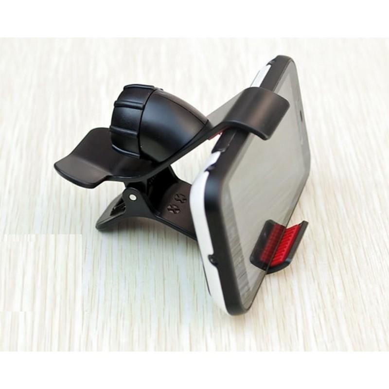 Компактный клип-держатель смартфона для автомобиля (А-855)