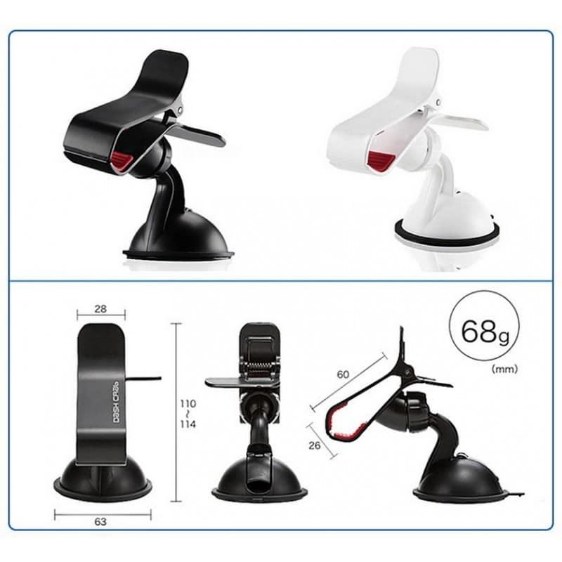 Компактный клип-держатель смартфона для автомобиля (А-855) 206722