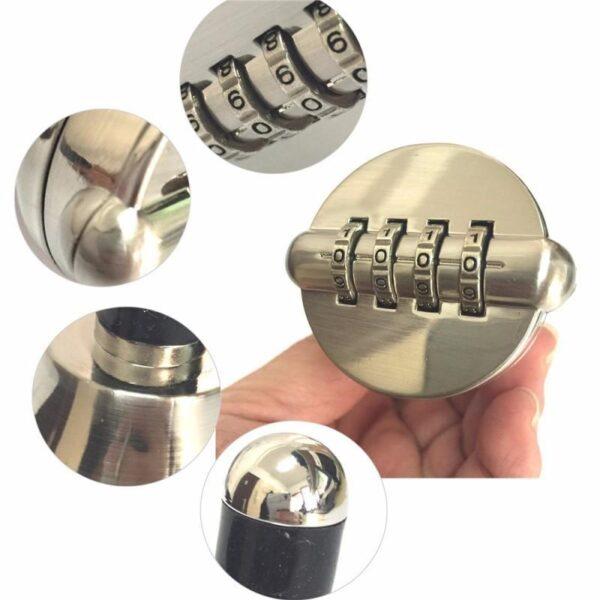 30011 - Вакуумная пробка с кодовым замком для всех типов бутылок AlkoStop