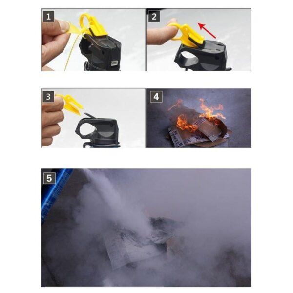 30208 - Порошковый автомобильный огнетушитель Flamebeater