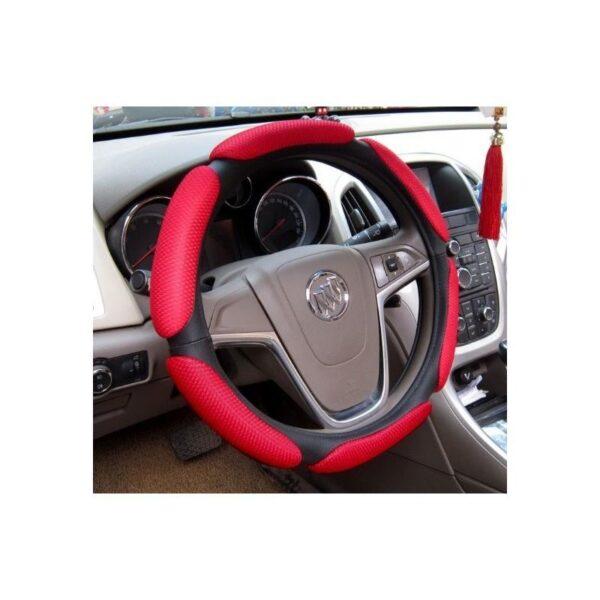 30676 - Автомобильный чехол на руль с дышащим, антискользящим покрытием