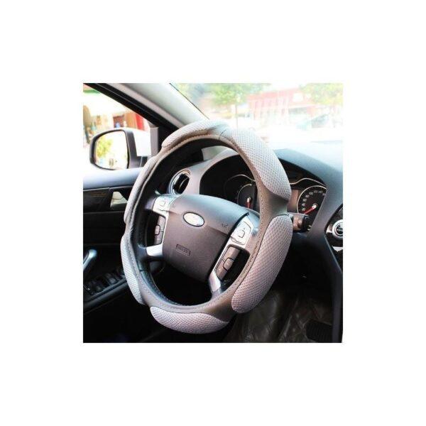 30677 - Автомобильный чехол на руль с дышащим, антискользящим покрытием