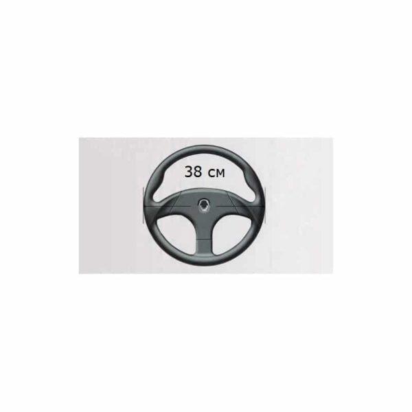 30683 - Автомобильный чехол на руль с дышащим, антискользящим покрытием